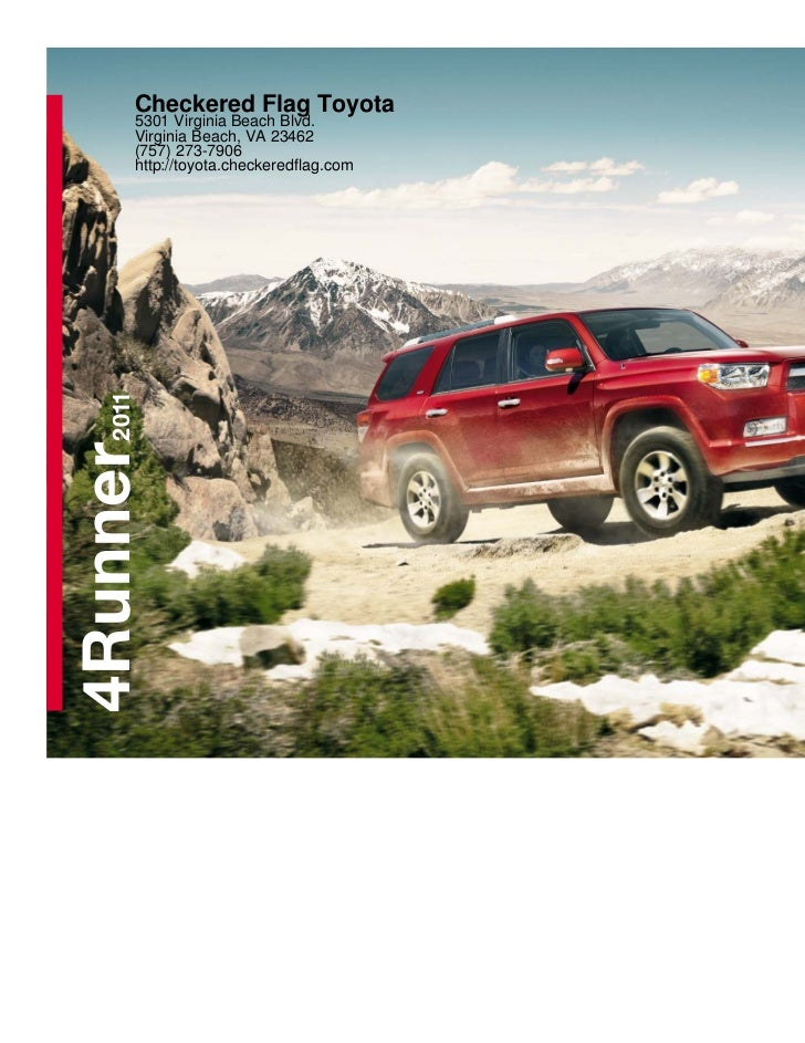 2011 toyota 4runner for sale in virginia beach va checkered flag to. Black Bedroom Furniture Sets. Home Design Ideas