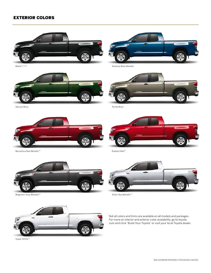 2017 toyota tundra colors of touch up paint. Black Bedroom Furniture Sets. Home Design Ideas