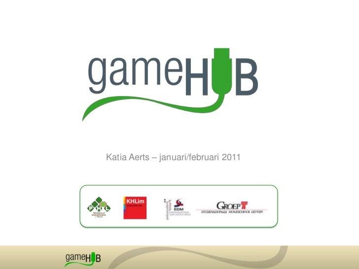 201101 GameHUB   kenniscentrum