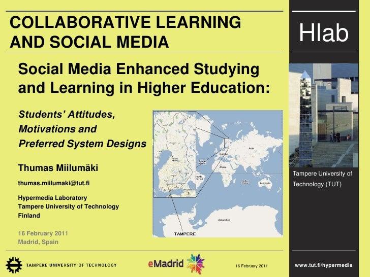 2011 02-11 (uam) emadrid tmiilumaki tut estudio aprendizaje apoyado en redes sociales educacion superior