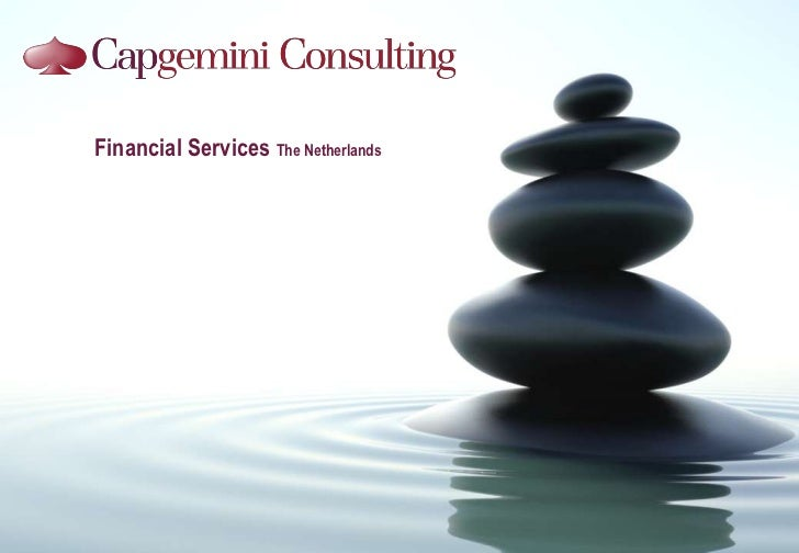 Overview of Financial Servics Capgemini Consulting