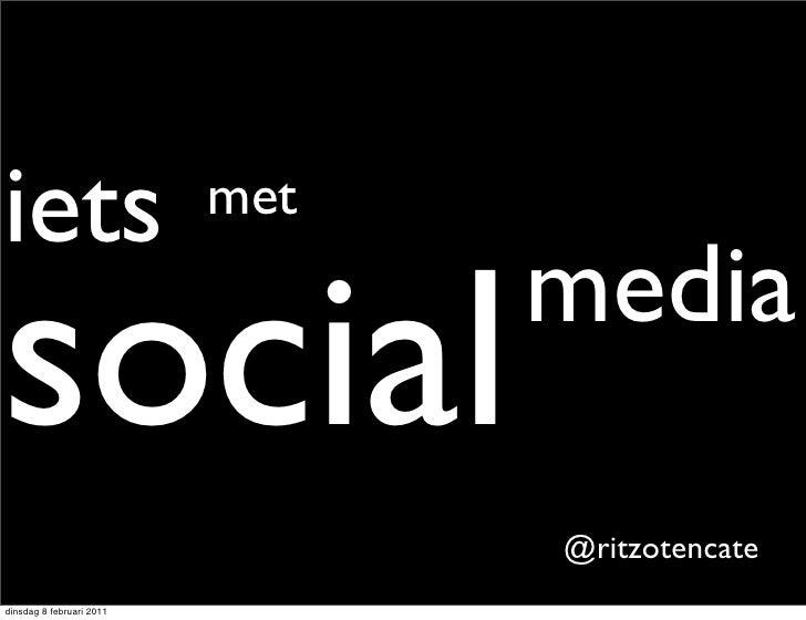Iets met Social Media bij Rabobank Noord Groningen