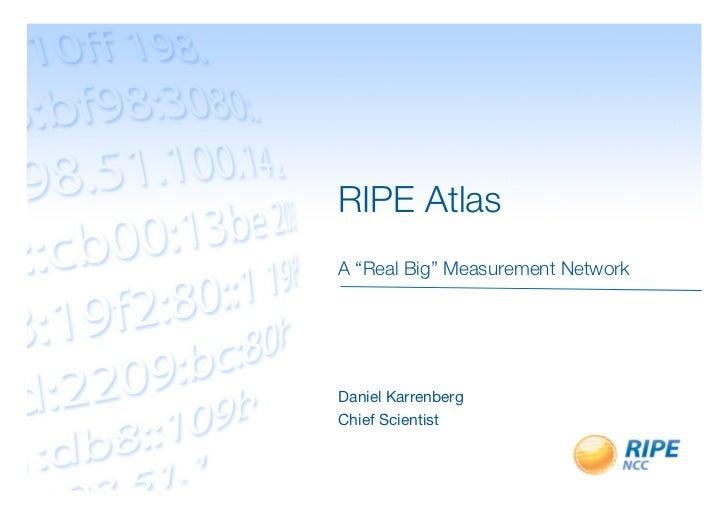 RIPE Atlas
