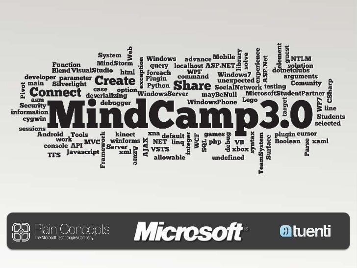2011 03 01 MindCamp - Kinect y C#