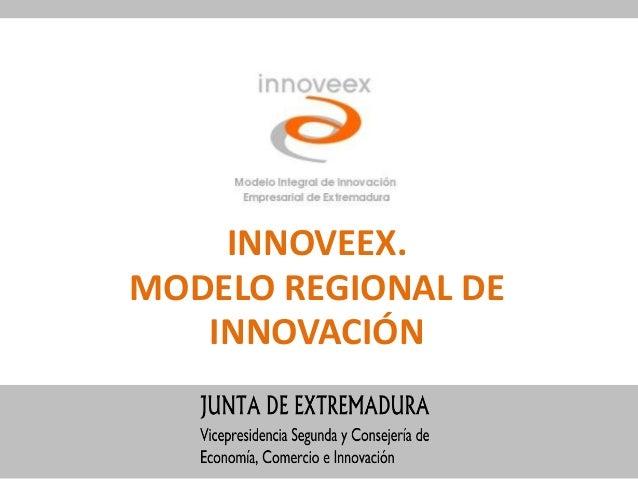 INNOVEEX.MODELO REGIONAL DE   INNOVACIÓN