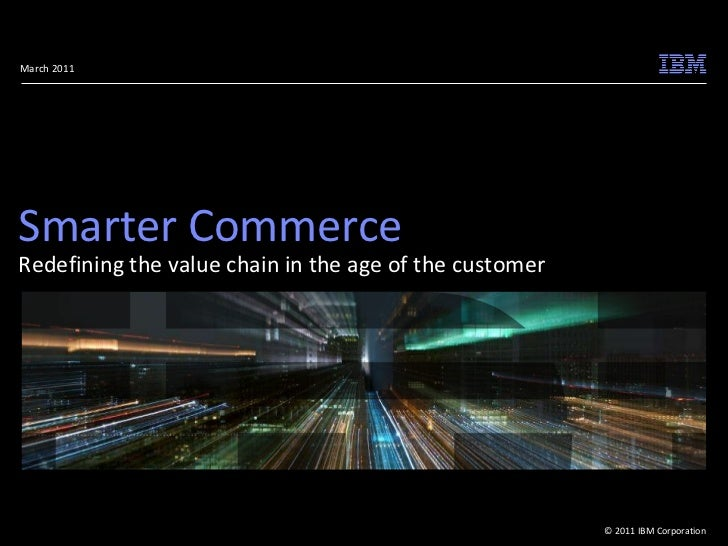 Full Smarter Commerce Global Summit Agenda