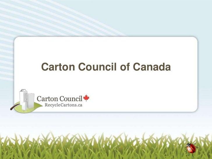 Carton Council of Canada
