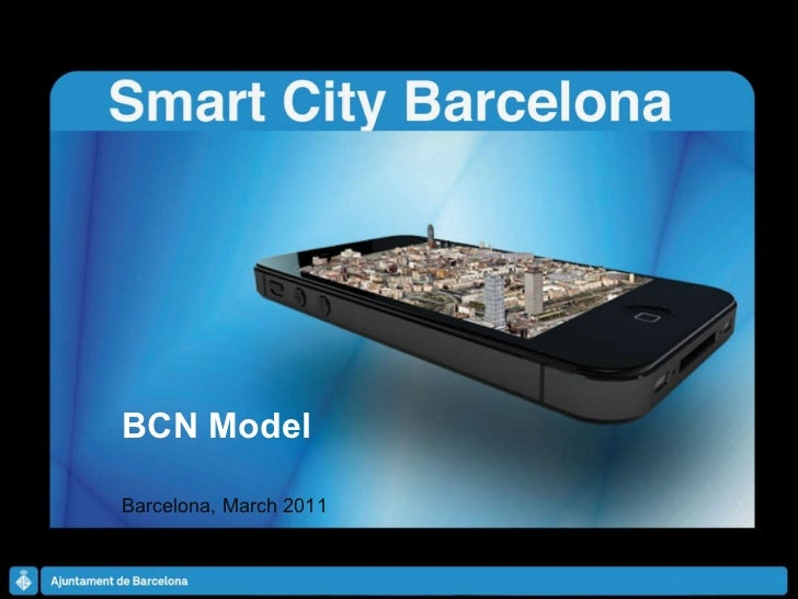 Model Smart City Barcelona