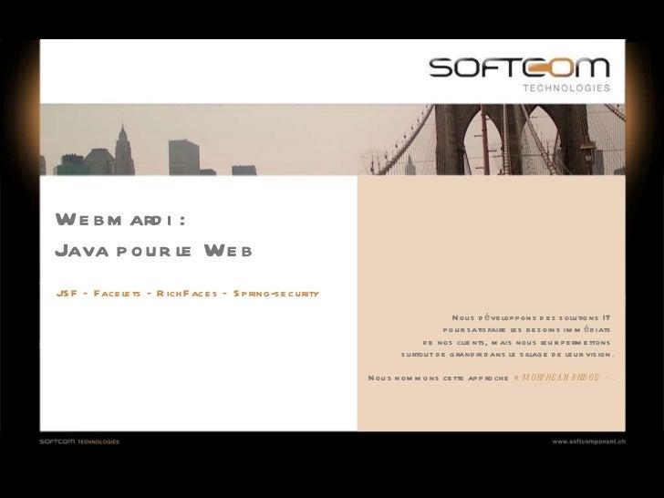 Java pour le Web