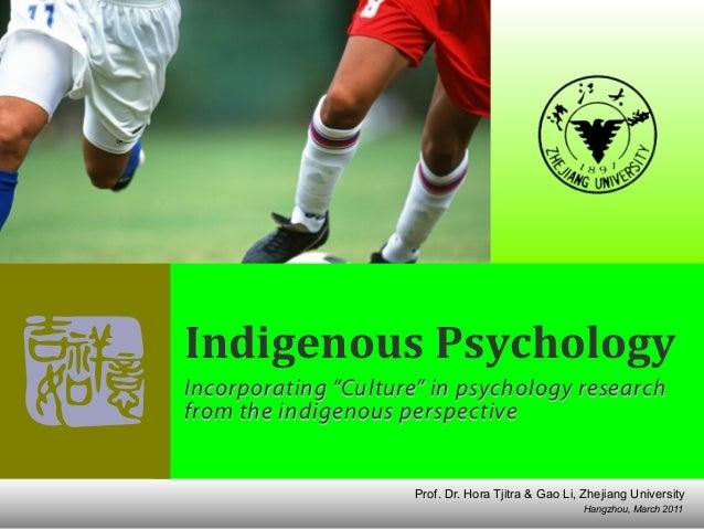 "Hangzhou, March 2011 Prof. Dr. Hora Tjitra & Gao Li, Zhejiang University Indigenous  Psychology Incorporating ""Culture"" ..."