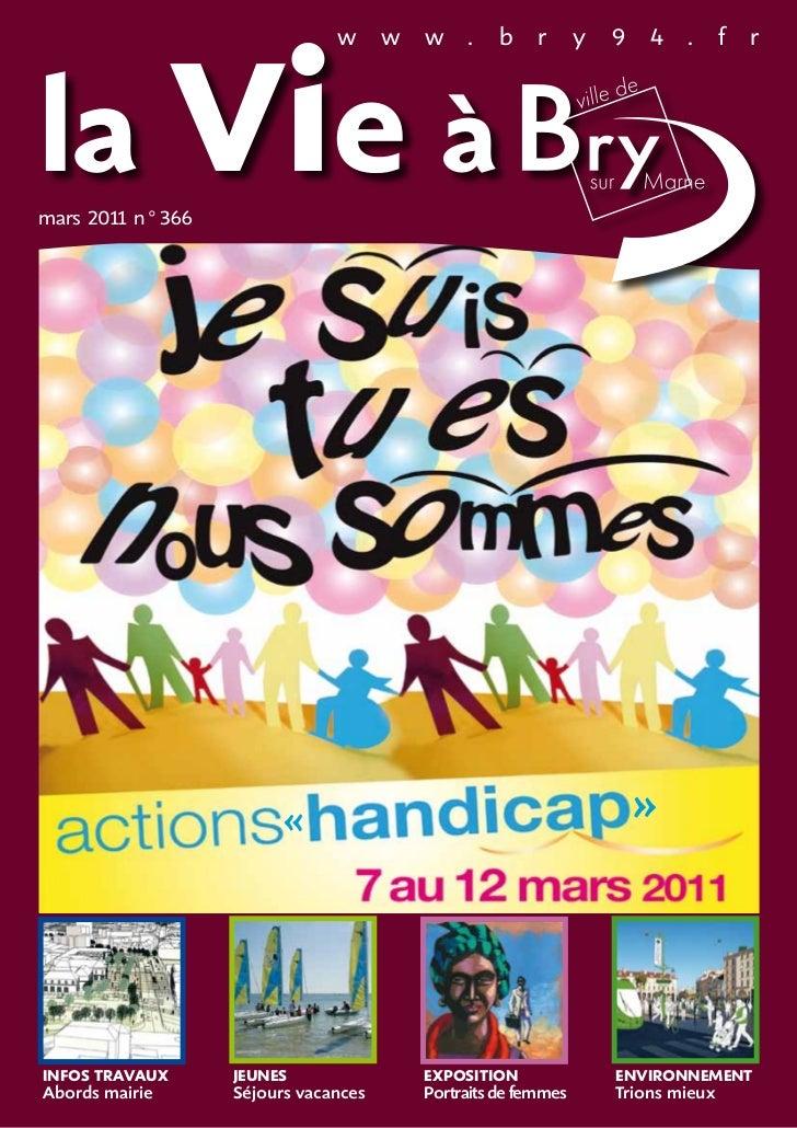 la Vie à                             w      w   w .      b     r      y   9 4 .          f   rmars 201 n°366        1     ...