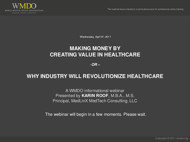 The medical device industry's most trusted source for professional online training.                       Wednesday, April...