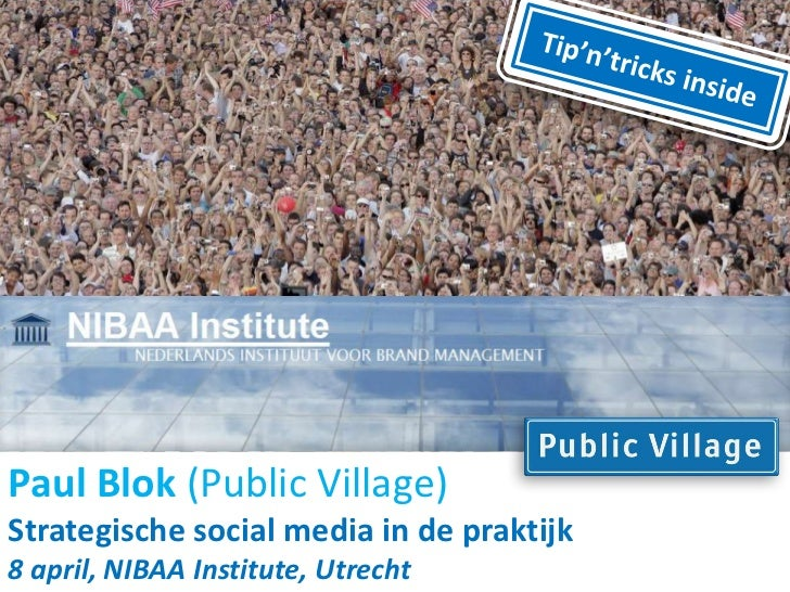 NIBAA Masterclass Social Media Marketing