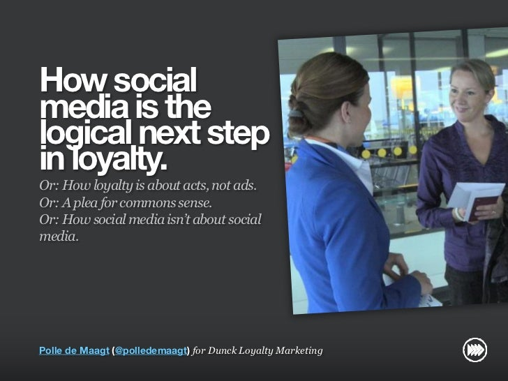 How social media is the logical next step in loyalty for Dunck Loyaltycafe