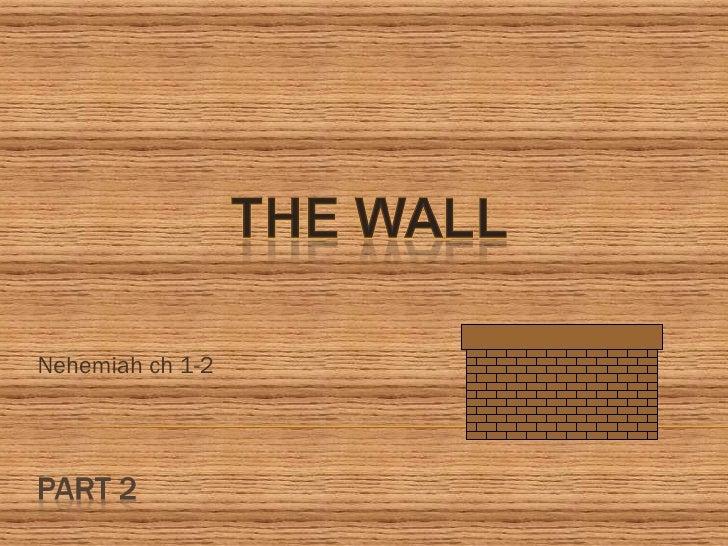 Nehemiah ch 1-2