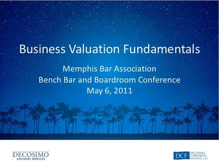 Business Valuation Fundamentals