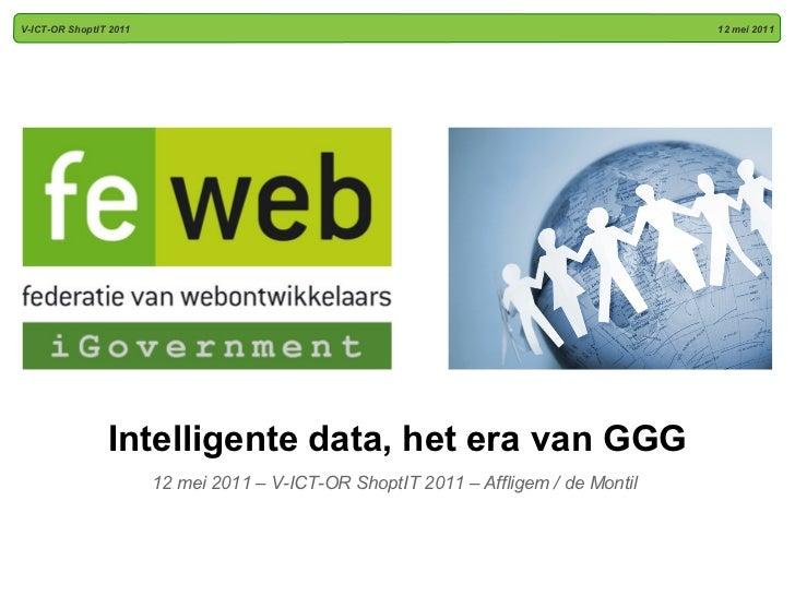 Intelligent data en open overheid