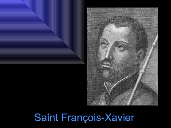 Saint François-Xavier
