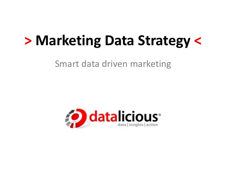 ADMA Marketing Data Strategy Workshop