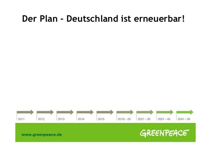 Der Plan - Deutschland ist erneuerbar!