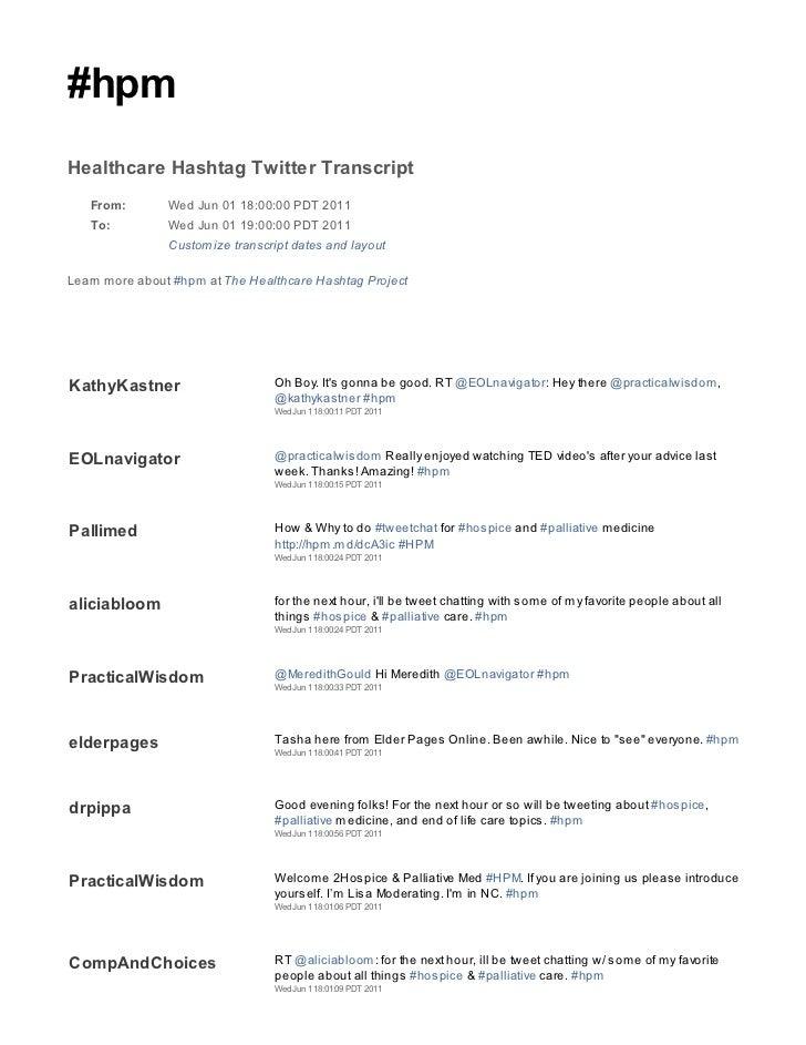 2011 06 01 hpm tweetchat transcript