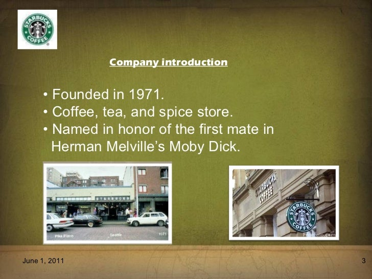 an introduction to the history of the rise of the starbucks corporation 5 conclusion in conclusion, the background of starbucks corporation reveals its presence in the market since 1971 schultz brought a transformational leadership style to starbucks corporation by keeping a clear path of the company's direction by following the vision and mission statement and serving as an organizational role model.