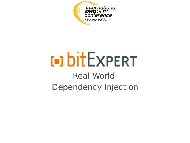 Real World Dependency Injection