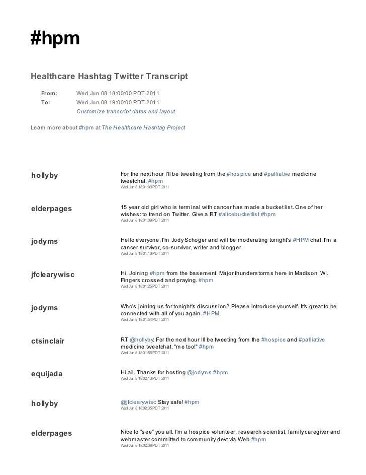 2011 06 08 hpm tweetchat transcript