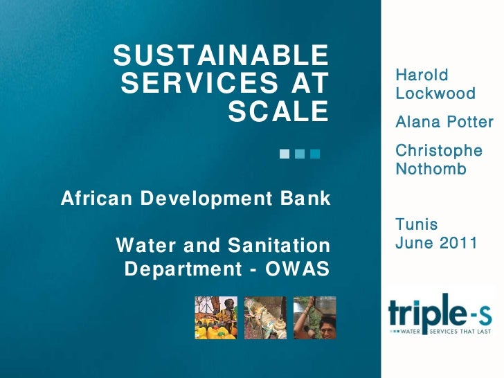 Sustainable services at scale