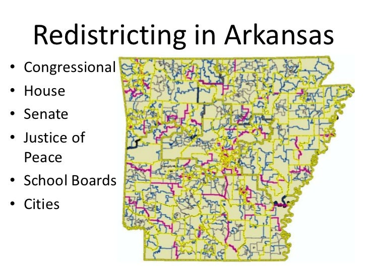 Redistricting in Arkansas<br />Congressional<br />House<br />Senate<br />Justice of Peace<br />SchoolBoards<br />Cities<br />