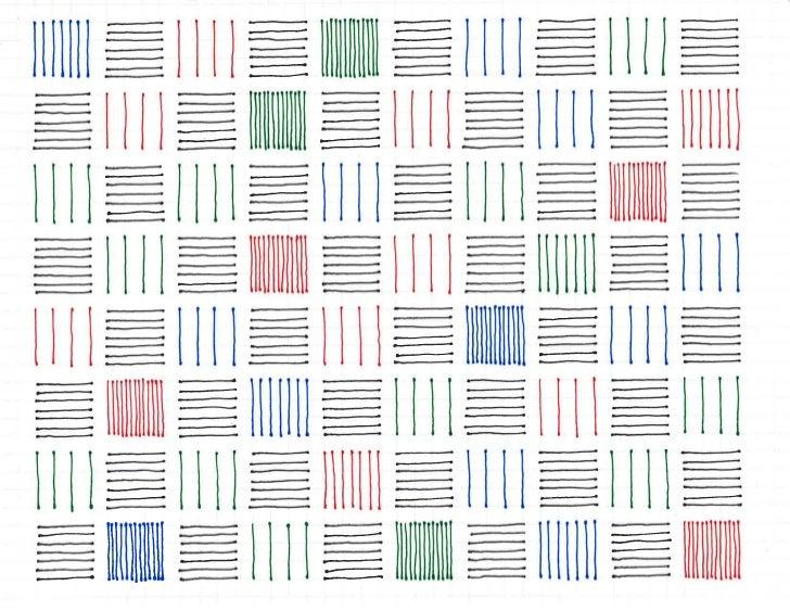 Color Grids, 7/6/2011