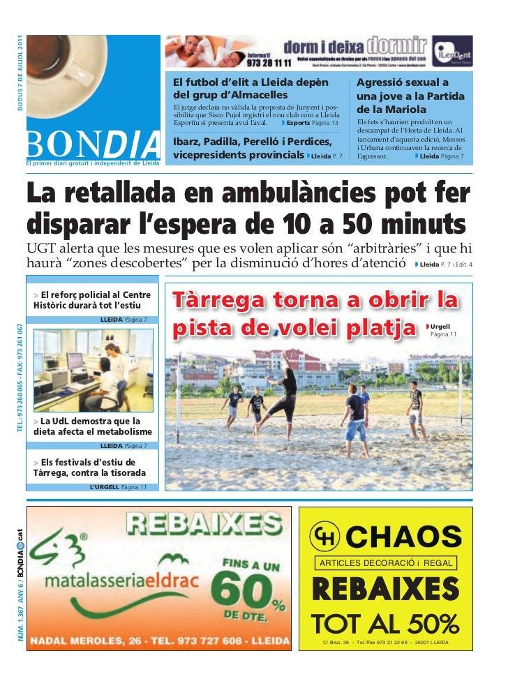 Bondia Lleida 07072011