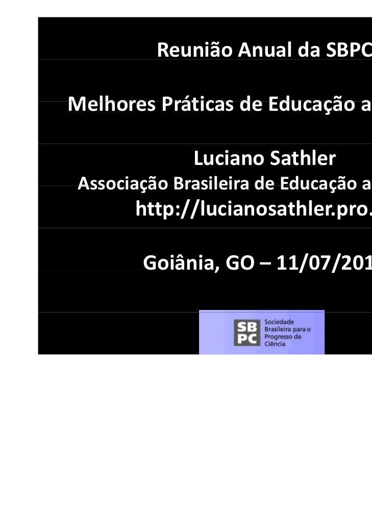 eflexivel.tumblr.com          ReuniãoAnualdaSBPCMelhoresPráticasdeEducaçãoaDistânciaMelhores Práticas de Educação ...