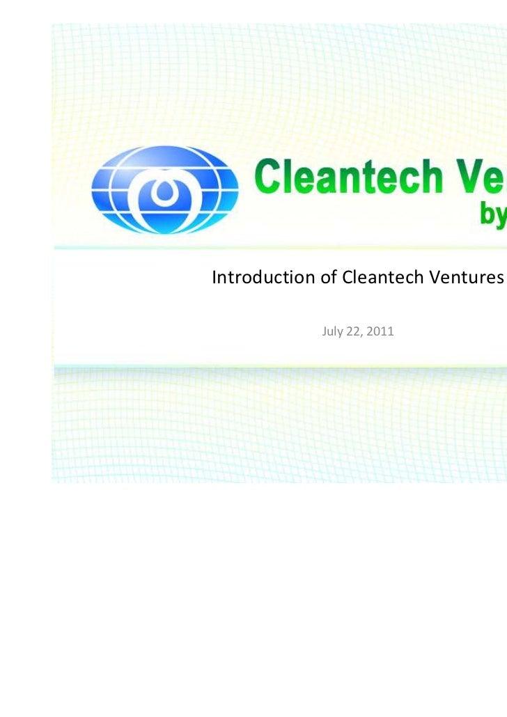 20110722 cleantechventures eng
