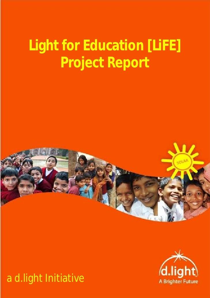 Light for Education
