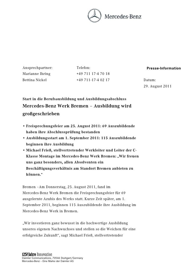 Ansprechpartner:                         Telefon:                  Presse-InformationMarianne Ihring                      ...