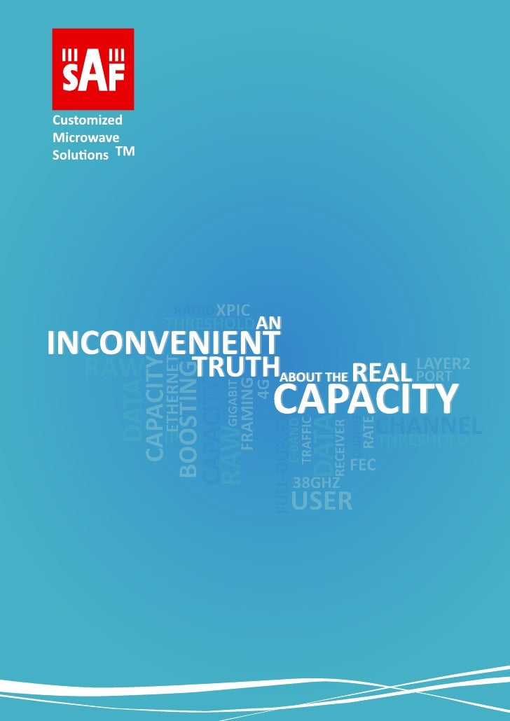 "Whitepaper ""Inconvenient Truth About the Real Capacity"""