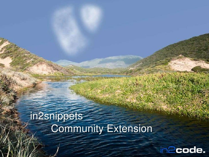 in2snippetsCommunity Extension<br />