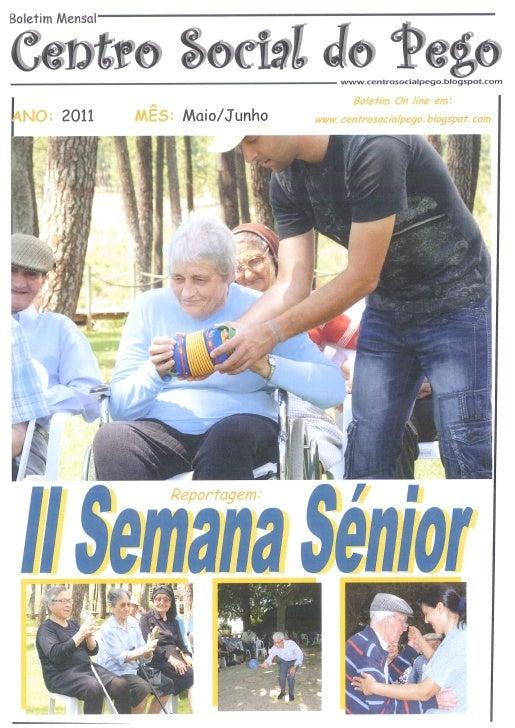 Boletim Maio/Junho 2011