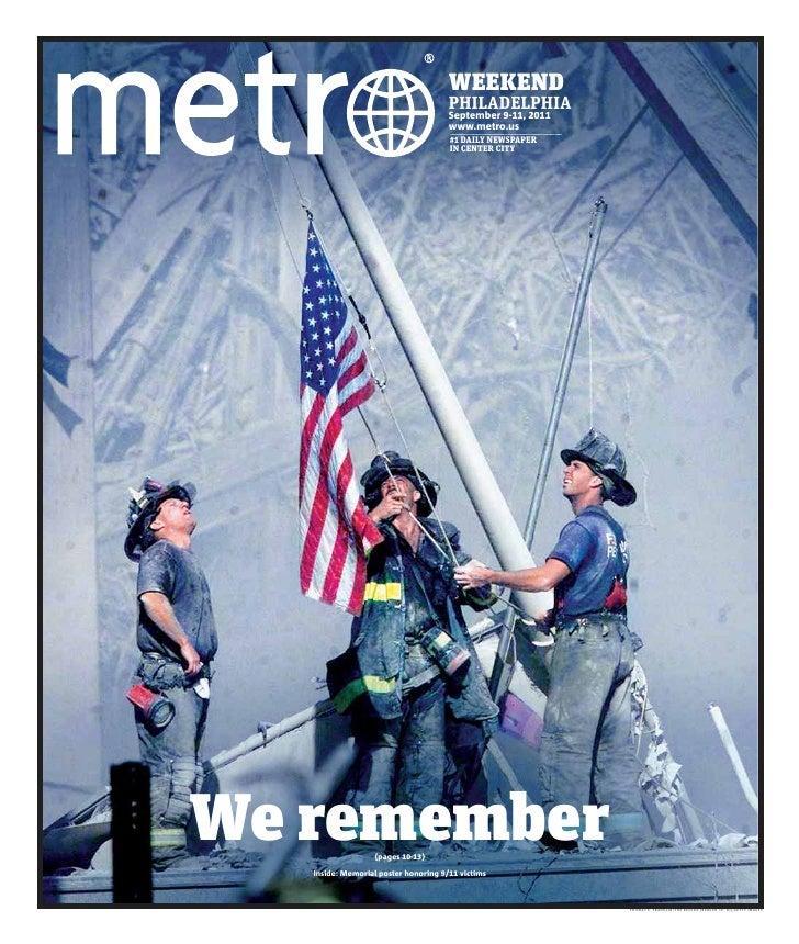 WEEKEND                                      PHILADELPHIA                                      September 9-11, 2011       ...