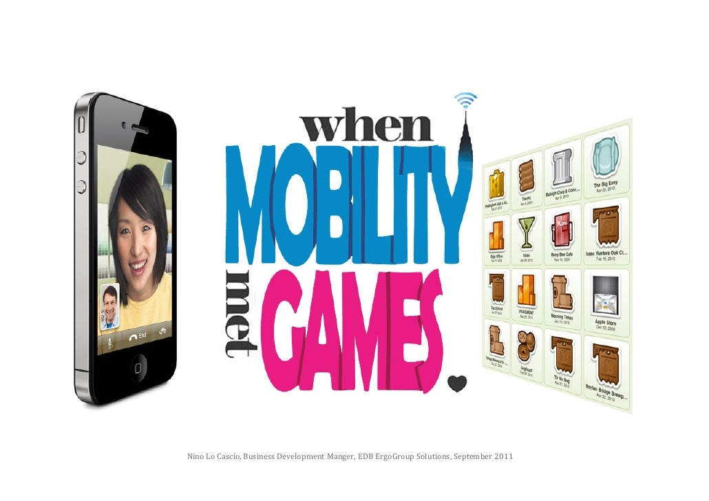 When Mobility Met Gamification
