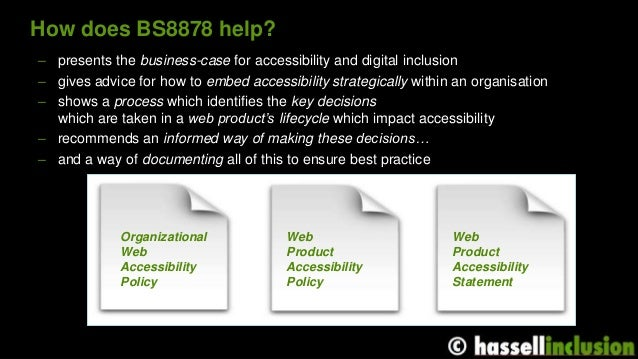 The perfect team for accessibility: how BS8878 could get you what you really want