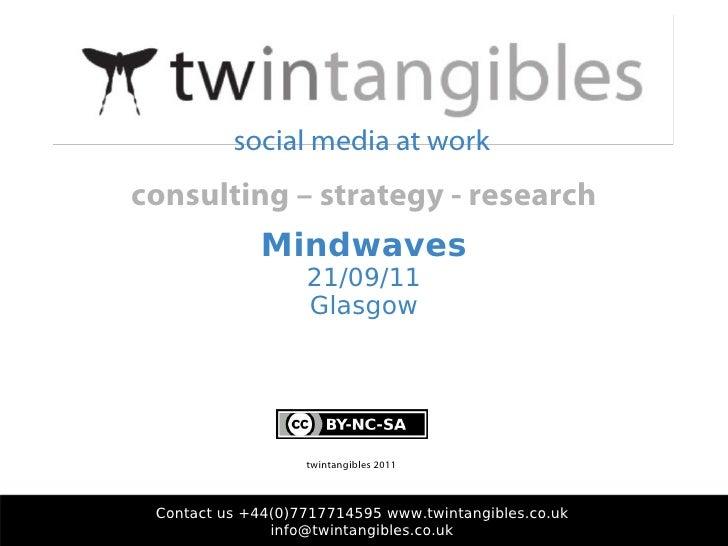 Social Media - Mindwaves @ Social Media Week Glasgow