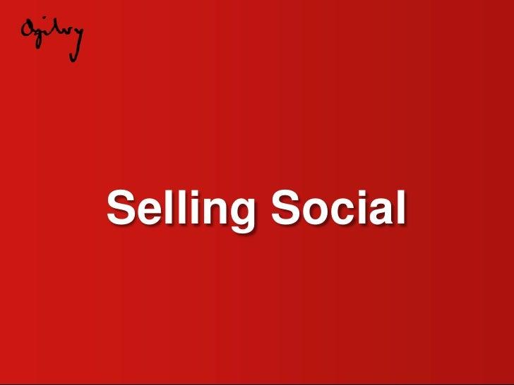 Selling Social<br />