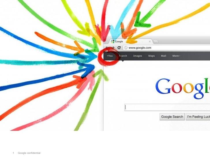 Google+ Project1   Google confidential