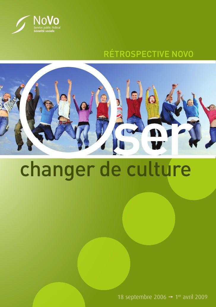 Retrospective: oser changer de culture au SPF Sécurité sociale