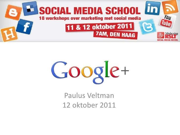 Paulus Veltman 12 oktober 2011<br />