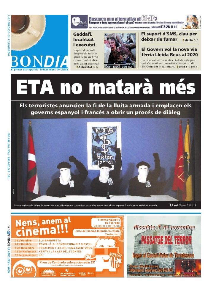 Bondia Lleida 21102011