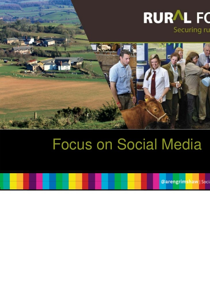 Rural Focus: An Introduction to Social Media for Businesses