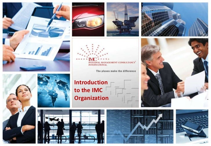1    Introduction    to the IMC    Organization